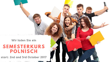 Semesterkurse Polnisch beginnen  bereits in Oktober.